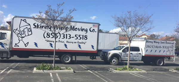 Skinny Wimp Moving Co Services