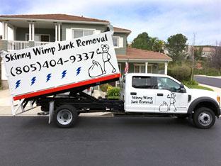 Ventura County California Junk Removal Truck