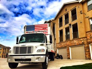 Austin Texas truck on a move