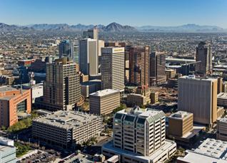 Downtown Phoenix Arizona